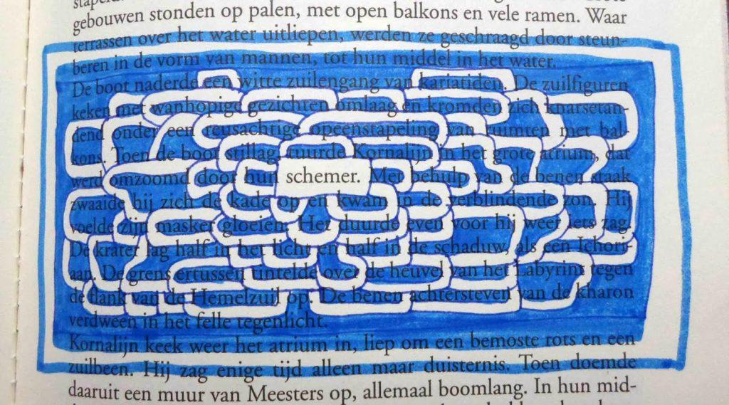 Schemer - boeksel door Loes Vork
