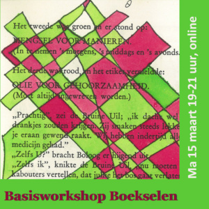 Basisworkshop Boekselen